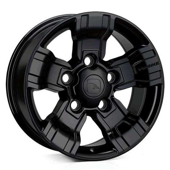 """18"""" Hawke Osprey Gloss Black Alloy Wheels"""