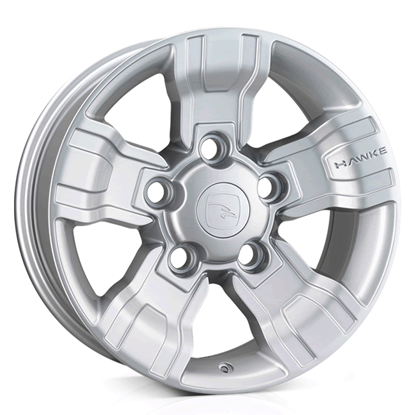 "18"" Hawke Osprey Silver Alloy Wheels"