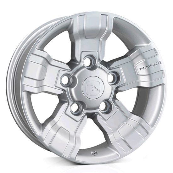 """18"""" Hawke Osprey Silver Alloy Wheels"""