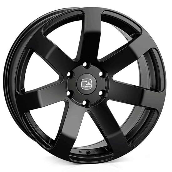 "20"" Hawke Summit XD Matt Black Alloy Wheels"