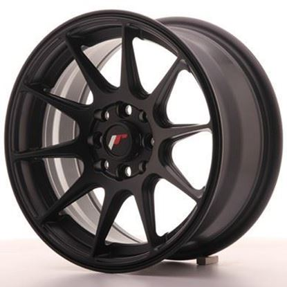 Japan Racing JR11 Flat Black Alloy Wheels