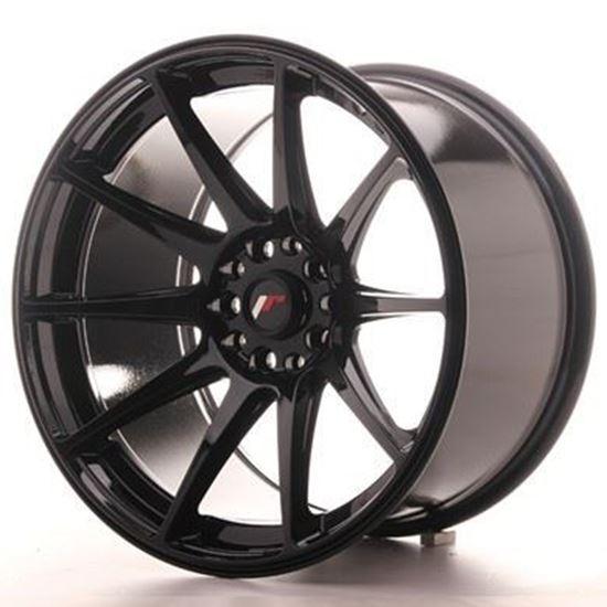 Japan Racing JR11 Glossy Black Alloy Wheels