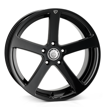 "19"" Cades Apollo Black Crest Alloy Wheels"