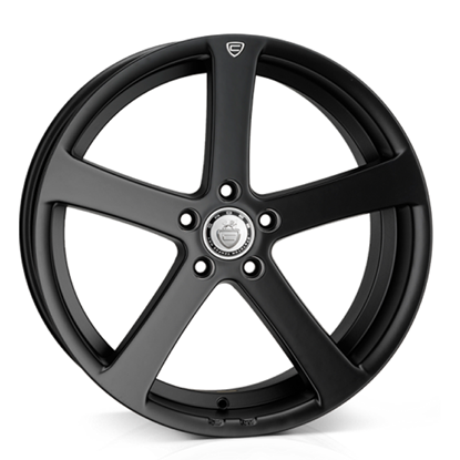 "19"" Cades Apollo Matt Black Crest Alloy Wheels"