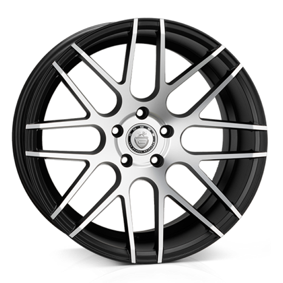 "19"" Cades Artemis Black Polish Alloy Wheels"