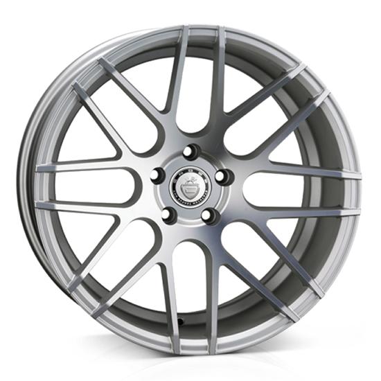 """19"""" Cades Artemis Silver Alloy Wheels"""