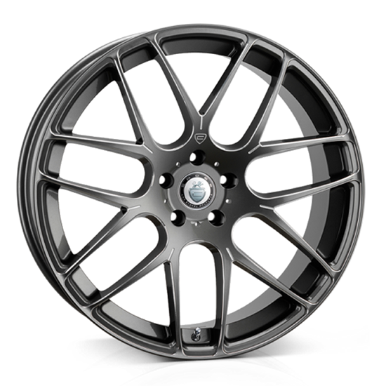"18"" Cades Bern Gun Metal Accent Alloy Wheels"