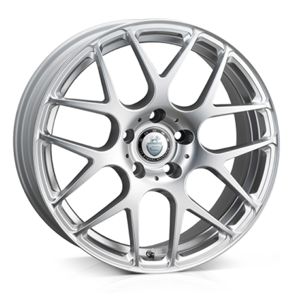 "18"" Cades Bern Silver Alloy Wheels"