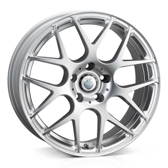 """18"""" Cades Bern Silver Alloy Wheels"""