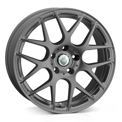 "18"" Cades Bern Matt Grey Alloy Wheels"