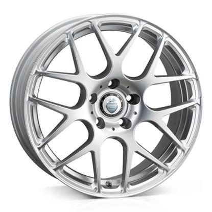 """20"""" Cades Bern Silver Alloy Wheels"""