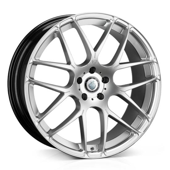 "20"" Cades Bern Silver Accent Alloy Wheels"