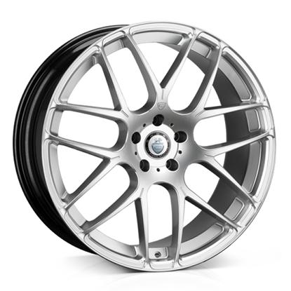 "22"" Cades Bern Silver Accent Alloy Wheels"
