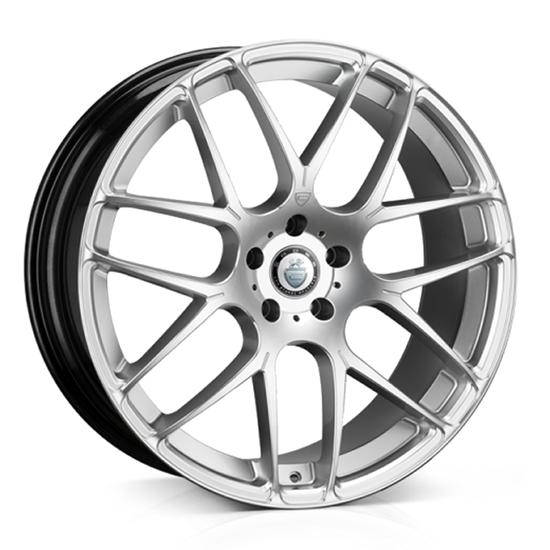 "18"" Cades Bern Accent Silver Accent Alloy Wheels"