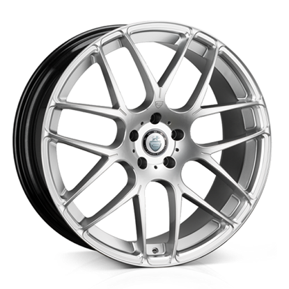 "19"" Cades Bern Accent Silver Accent Alloy Wheels"