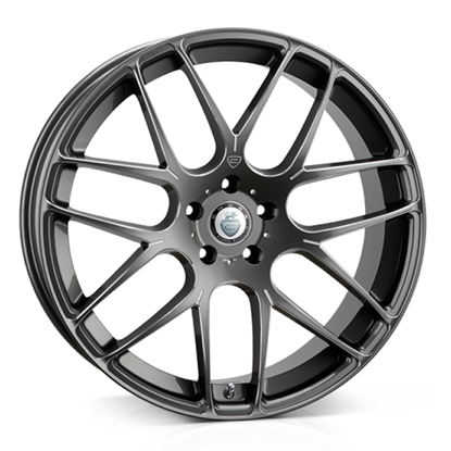 "19"" Cades Bern Accent Gun Metal Accent Alloy Wheels"