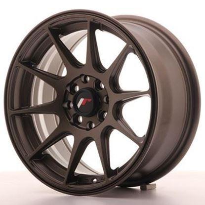 Japan Racing JR11 Matt Bronze Alloy Wheels