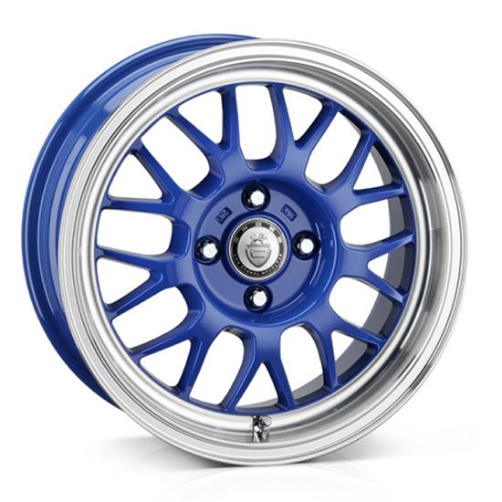 "15"" Cades Eros Blue Alloy Wheels"