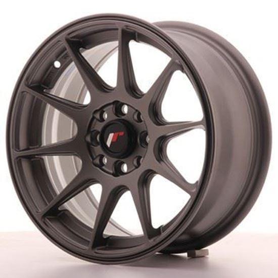 Japan Racing JR11 Matt Gunmetal Alloy Wheels