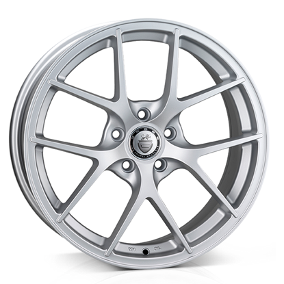 "18"" Cades Shift Matt Silver Alloy Wheels"
