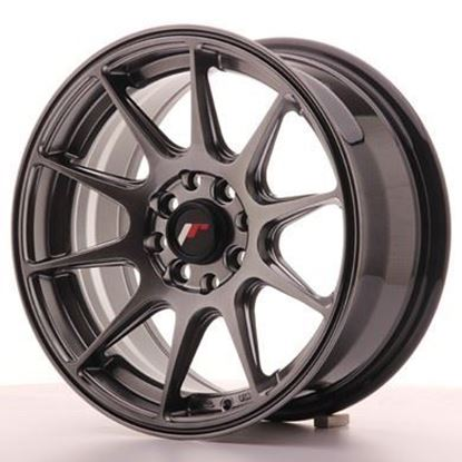 Japan Racing JR11 Dark Hiper Black Alloy Wheels