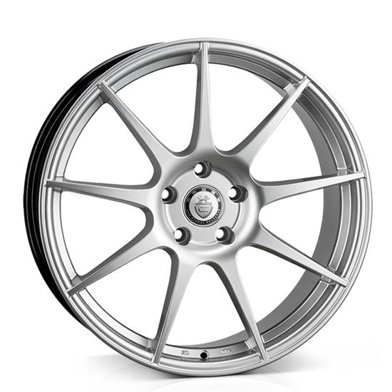 "17"" Cades Tora Silver Alloy Wheels"