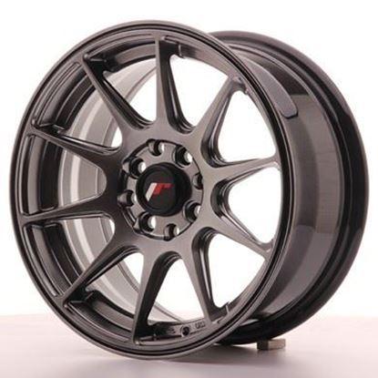 Japan Racing JR11 Dark Hiper Black  Alloy Wheels