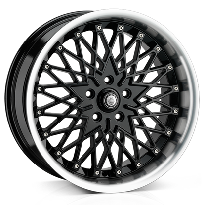 """17"""" Cades Zeus Black Alloy Wheels"""