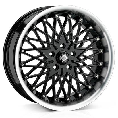 """18"""" Cades Zeus Black Alloy Wheels"""