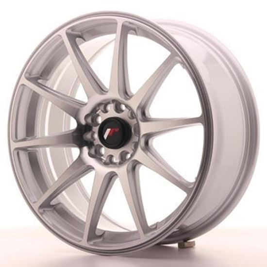 Japan Racing JR11 Silver Machined Alloy Wheels