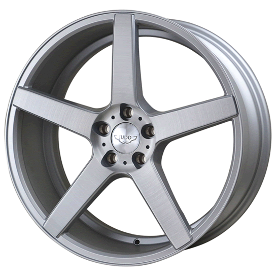"20"" Judd T203 Matt Silver Brushed Polished Alloy Wheels"