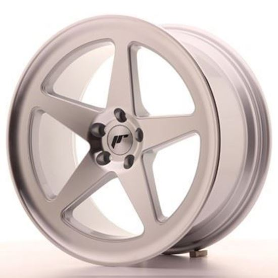 Japan Racing JR24  Silver Machined Alloy Wheels