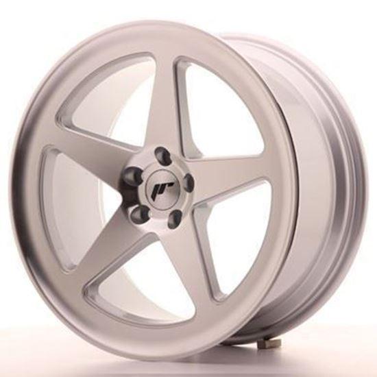 Japan Racing JR24  Silver Machined Alloy Wheels