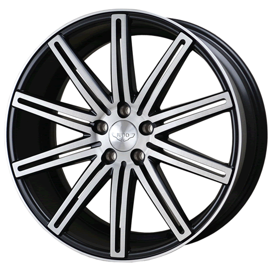 "20"" Judd T225 Matt Black Brushed Polished Alloy Wheels"