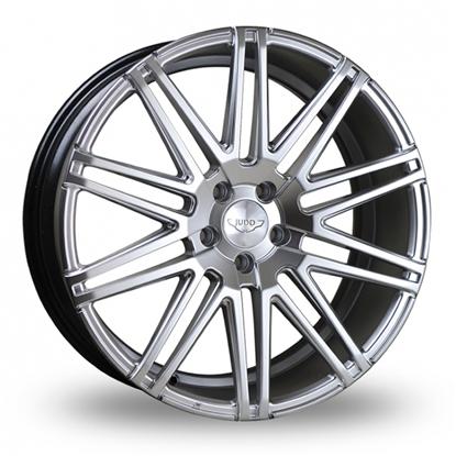 """20"""" Judd T229 Hyper Silver Alloy Wheels"""