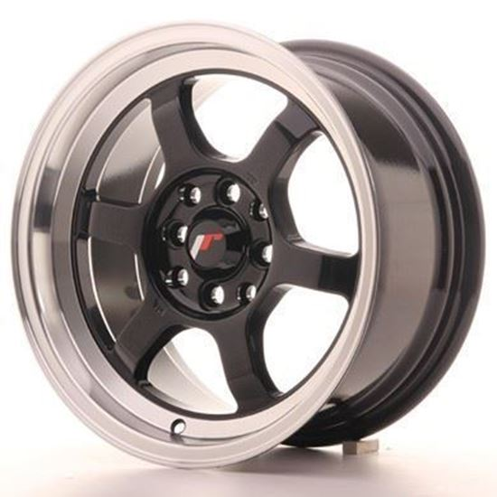 Japan Racing JR12 Gloss Black Alloy Wheels