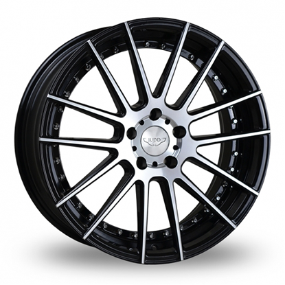 "20"" Judd T235 Gloss Black Polished Face Alloy Wheels"