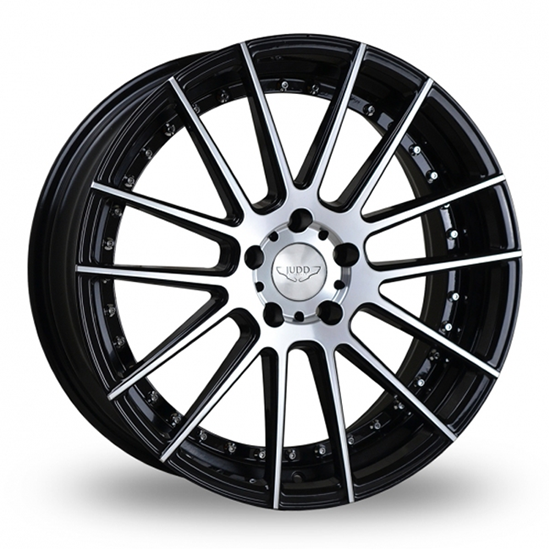 """20"""" Judd T235 Gloss Black Polished Face Alloy Wheels"""