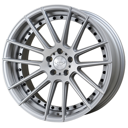 "20"" Judd T235 Matt Silver Brushed Alloy Wheels"