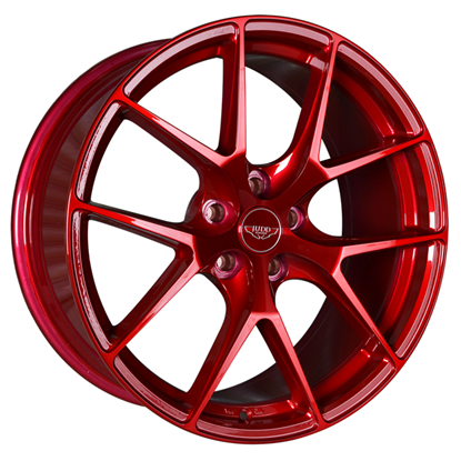 "20"" Judd T325 Candy Red Alloy Wheels"