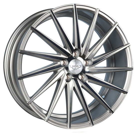"20"" Judd T415 Silver Polished Lip Alloy Wheels"