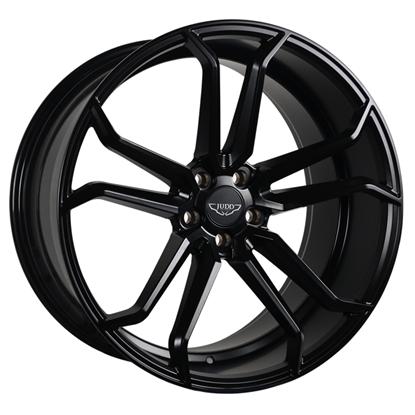 """22"""" Judd T502 Matt Black Alloy Wheels"""