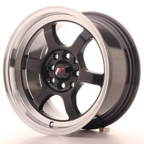 Japan Racing JR12 Gloss Black Alloy Wheels