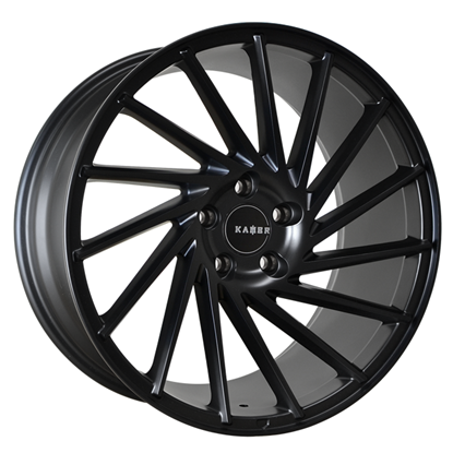 "18"" Kambr 400R Satin Black Alloy Wheels"