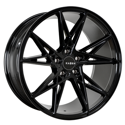 "18"" Kambr 500X Gloss Black Alloy Wheels"