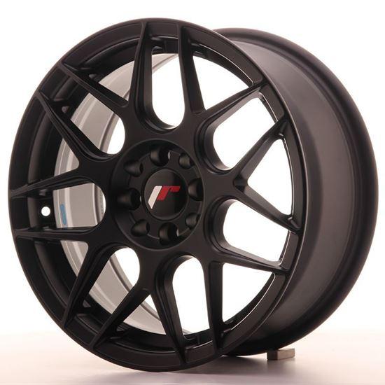 Japan Racing JR18 Matt Black Alloy Wheels