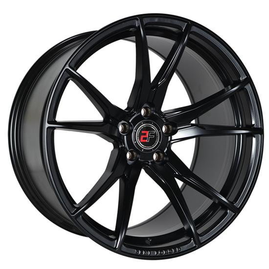 "19"" 2Forge ZF2 Satin Black Alloy Wheels"