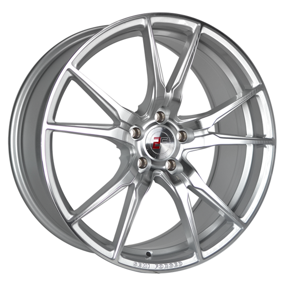 "19"" 2Forge ZF2 Silver Polished Face Alloy Wheels"