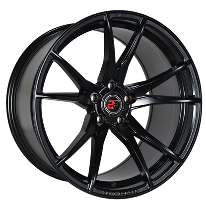 "20"" 2Forge ZF2 Satin Black Alloy Wheels"