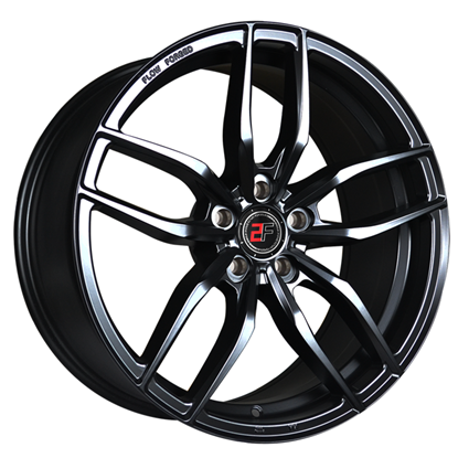 "19"" 2Forge ZF3 Matt Black Alloy Wheels"